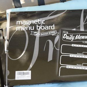 Magnetic Menu Board and To Do List